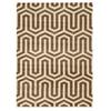 Linon Roma Tangent Ivory/Bge 5X7