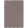 Saloniki Chevron Purple 5' X 8