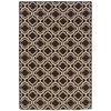 Saloniki Db Quatrefoil Brn 5X8, Brown
