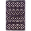 Saloniki Irongate Pur 5' X 8, Purple