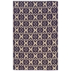 Saloniki Ikat Pur 5' X 8', Purple