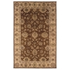 "Linon Rosedown Collection, 108""W X 144""D X 1""H, Brown"
