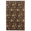 "Linon Ashton Collection, 48""W X 72""D X 1""H, Chocolate"