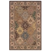 "Soumak Collection, 96""W X 120""D X 1""H, Brown"