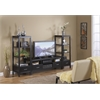 "Linon Sutton Black Plasma TV Center, 54""W X 16""D X 20""H, Black"