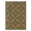 Linon Trio Collection Wasabi & Chocolate 8 X 10