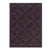 Linon Trio Collection Chocolate & Blue 8 X 10
