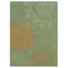 "Trio Collection, 96""W X 120""D X 1.5""H, Pale Green"