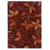 Linon Trio Collection Garnet & Orange 8 X 10