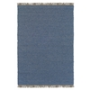 Linon Verginia Berber Denim Blue  5.3 X 7.6
