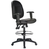Harwick Extra Tall Ergonomic Leather Drafting Chair