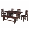 6-Piece Cappuccino Dining Set