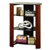"Walker Edison 35"" Multilevel Component Stand - Cherry"