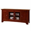 "53"" Brown Wood TV Stand Console"
