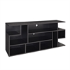 "60"" Black Wood TV Stand"