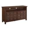"Walker Edison angelo:HOME 52"" Apothecary TV Console - Walnut"