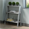 "30"" Wood Ladder Bookshelf - Grey"
