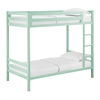 Walker Edison Bentley Twin over Twin Metal Bunk Bed - Mint