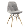 Upholstered Eames Dining Chair - Set of 2