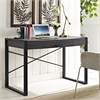 "Walker Edison angelo:HOME 48"" Computer Desk - Charcoal"