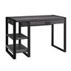 "Walker Edison 48"" Urban Blend Computer Desk - Charcoal"