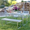 All-Weather 4-Piece Dining Set - Grey