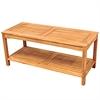 Acacia Wood Patio Coffee Table - Brown