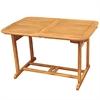 Walker Edison Acacia Wood Patio Dining Table - Brown