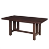 Cappuccino Wood Kitchen Dining Table