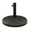 Walker Edison Round Umbrella Base - Antique Bronze