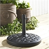 Walker Edison Round Umbrella Base - Black