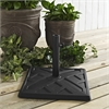 Walker Edison Square Umbrella Base - Black