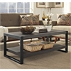 "Walker Edison angelo:HOME 48"" Coffee Table - Charcoal"
