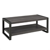 "angelo:HOME 48"" Coffee Table - Charcoal"
