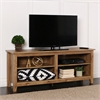 "Walker Edison 58"" Barnwood Wood TV Stand Console"