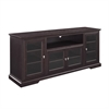 "Walker Edison 70"" Highboy Style Wood TV Stand - Espresso"