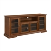 "70"" Highboy Style Wood TV Stand - Rustic Brown"