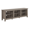 "Walker Edison 70"" Essentials TV Stand - Driftwood"