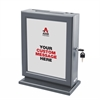 Adir Corp. Customizable Wood Suggestion Box-Grey