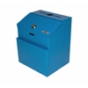 Steel Suggestion Box, Blue