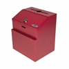Adir Corp Steel Suggestion Box, Red