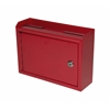 Adir Corp Deluxe Steel Drop box, Red