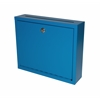 Adir Corp Steel Drop Box, Blue