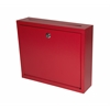 Adir Corp Steel Drop Box, Red