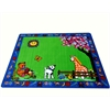 "Kids World Carpets Infant Toys Area Rug, 6'6"" x 8'4"""