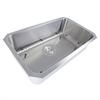 NS43-9-16 30 Inch Large Rectangle Single Bowl Undermount Stainless Steel Kitchen Sink, 9 Inches Deep