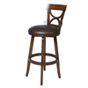 "Impact 26"" Swivel Stool, Brown"