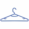 60-Pack Recycled Plastic Hangers- Blue