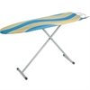 Honey Can Do Ironing Board With Iron Rest, Blue/Yellow Stripes