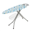 18X48 Ironing Board With Rest And Shelf, Blue/Green/White
